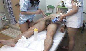Японский массаж с куни и дрочкой